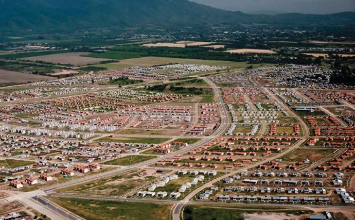Infraestructura Primaria Barrio Lomas de Tafí